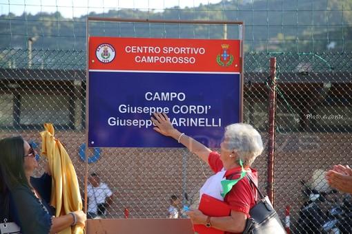Camporosso: inaugurato oggi pomeriggio il nuovo sintetico del campo di via Kennedy Presidente (Foto)