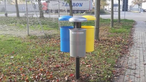 Pochi cestini nei parchi di Taggia: arrivano le mini isole ecologiche per fare la differenziata