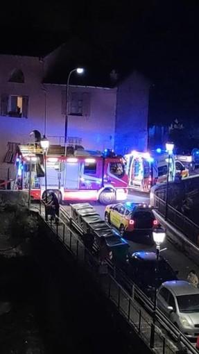Ventimiglia: incendio in un appartamento di Torri, mobilitazione di soccorsi nella notte