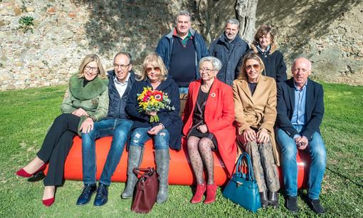 """Sanremo: panchina rossa di fronte a Santa Tecla, Paola Arrigoni """"Una mancanza non aver invitato i Consiglieri comunali e la cittadinanza"""""""