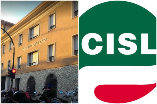 """Vallecrosia: chiusura Istituto Sant'Anna, il grido d'allarme delle sigle sindacali, Cisl """"Si apra un tavolo di crisi tra le parti coinvolte"""""""