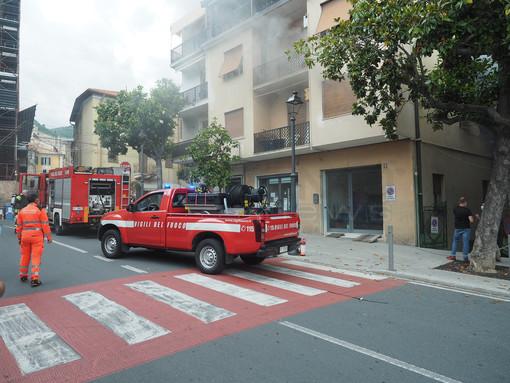 Incendio in piazza Spinola a Taggia: grazie agli ambulanti di Arma lunedì prossimo scatta gara di solidarietà