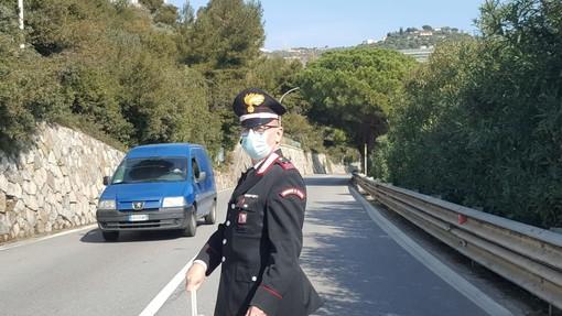 San Lorenzo al Mare, incidente sull'Aurelia: tre feriti trasportati in ospedale (foto)