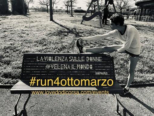 Bordighera: per la Festa della Donna, l'associazione Noi4You promuove la corsa #Run4OttoMarzo