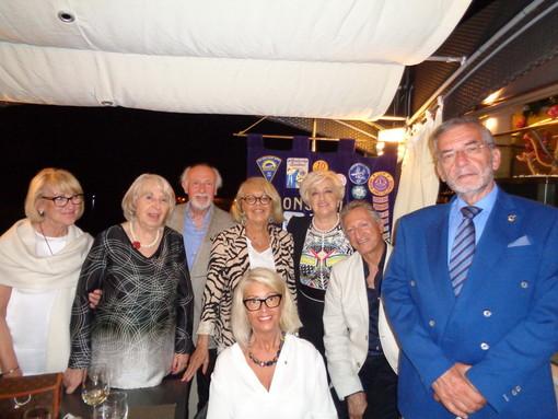 Passaggio delle consegne al nuovo Presidente eletto e al Consiglio Direttivo del Lions Club Sanremo Matutia (foto)