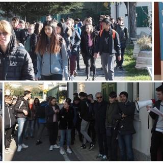Lost in education, in tour a Taggia per scoprire che cosa interessa ai ragazzi dell'I.I.S. Ruffini Aicardi (Foto e Video Servizio)
