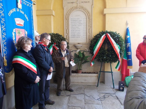 Sanremo: scomparsa di Gino Sciolè, il ricordo e il cordoglio dell'ANPI matuziano