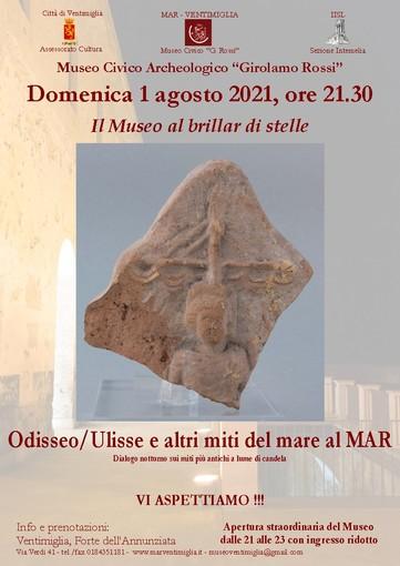 Ventimiglia: un weekend all'insegna di Odisseo al teatro romano di Albintimilium e in città