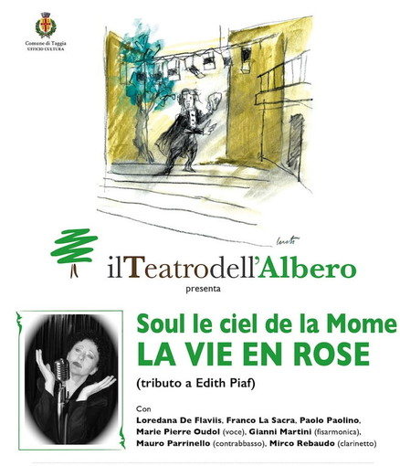'La Vie en Rose': concerto musicale in omaggio a Edith Piaf in piazza Marinella a Taggia