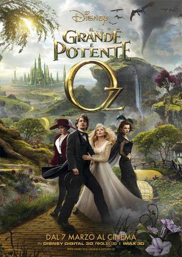 Riva Ligure: questa sera cinema all'aperto con proiezione film 'Il grande e potente Oz'