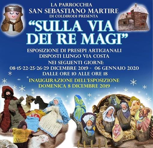 Coldirodi celebra il Natale con i presepi artigianali, domenica l'inaugurazione con comparse in costume e musica