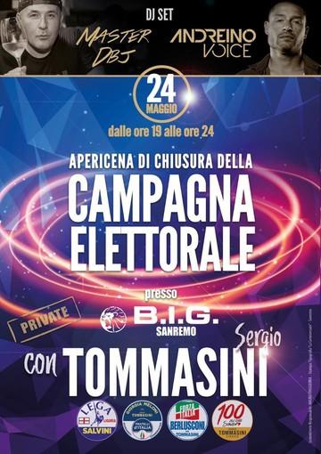 Elezioni di Sanremo: tutto pronto per la chiusura della campagna elettorale del centrodestra, alle 19 in piazza Bresca, comizio e musica con dj set