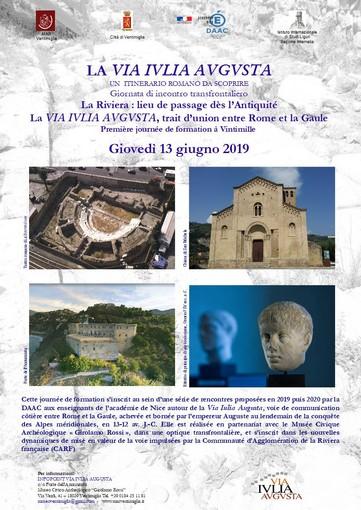 Ventimiglia: al Museo Archeologico una giornata di incontro transfrontaliero