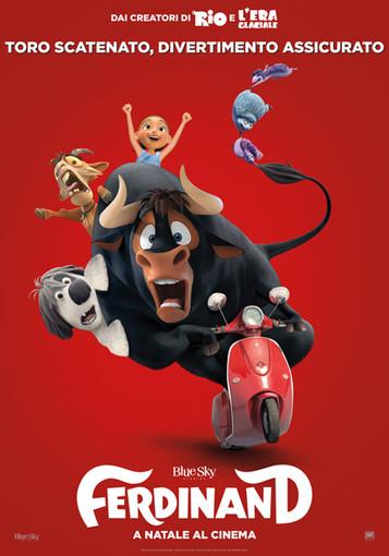 Riva Ligure: questa sera, cinema all'aperto con proiezione film d'animazione 'Ferdinand'