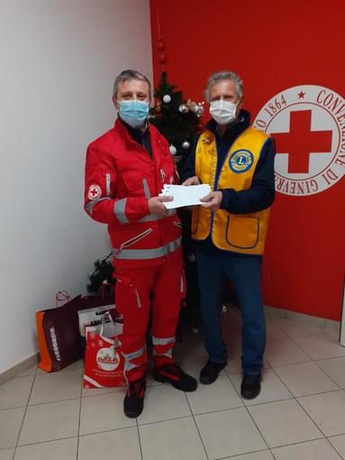 Il Lions Club Sanremo Matutia in visita alla Croce Rossa di Sanremo