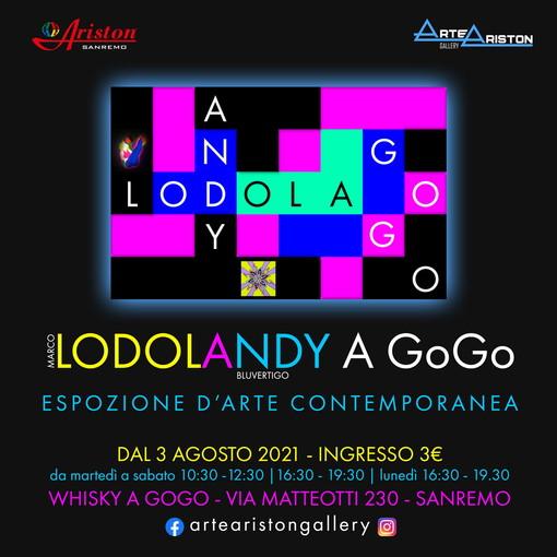 Sanremo: il mitico Whisky a GoGo ritorna a 'vivere' grazie alla mostra 'LodoLandy a GoGo'