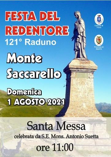 Domenica prossima, il 121° raduno sul Monte Saccarello dell'Associazione 'Festa del Redentore'