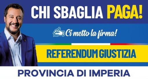 Domani riprende la raccolta firme per la campagna referendaria sulla Giustizia della Lega