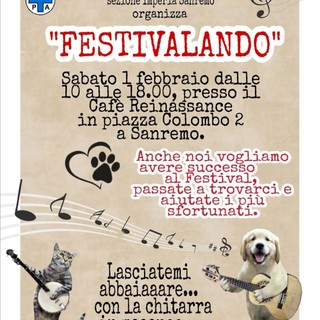 Sanremo: domani banchetto ENPA in piazza Colombo per la campagna di tesseramento