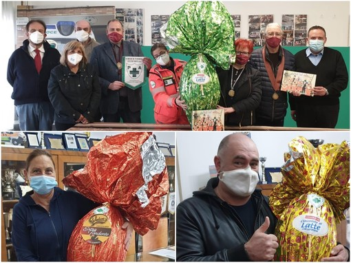 Ventimiglia: grande partecipazione per la lotteria delle uova di Pasqua della Croce Verde