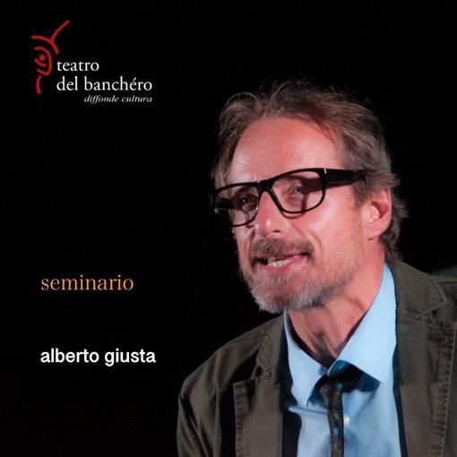 Taggia: si alza il sipario del Teatro del Banchéro con Alberto Giusta e un seminario su Dino Buzzati