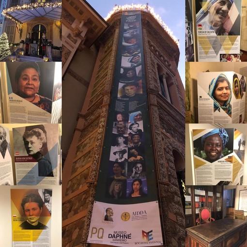 Sanremo: ha preso il via la mostra dedicata alle donne Nobel per la pace (foto)