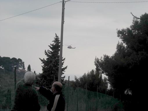 Le foto dell'arrivo dei soccorsi