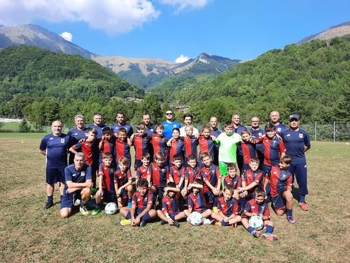 Calcio, ottima l'esperienza dell' U.S.Dolceacqua ASD al 5° Mini Camp a Limone Piemonte (foto)