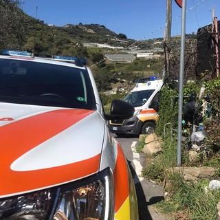 Camporosso: accusa malore in auto ma riesce ad allertare i soccorsi appena in tempo