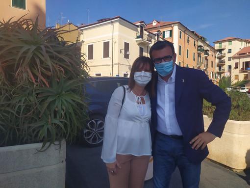 """Elezioni regionali, visita di Gianmarco Centinaio a Imperia, Monica Gatti (Lega): """"Da ministro è stato sempre attento al territorio"""" (video)"""