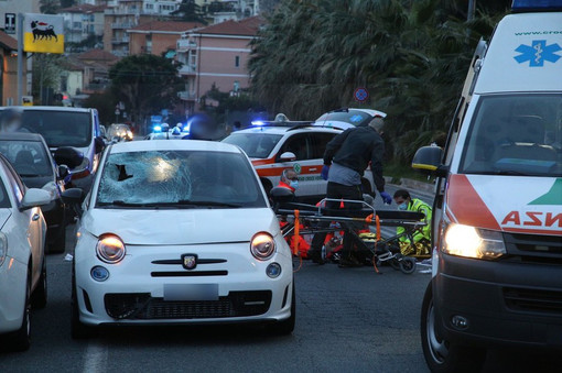 Sanremo: pedone investito in via Lamarmora, morto il 59enne Vittorio Lypp
