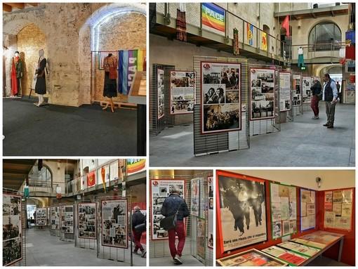 Al Forte di Santa Tecla di Sanremo la mostra '68 e dintorni'