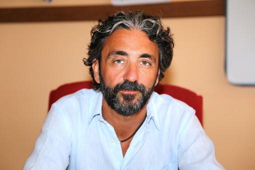 Il sindaco di Taggia, Mario Conio