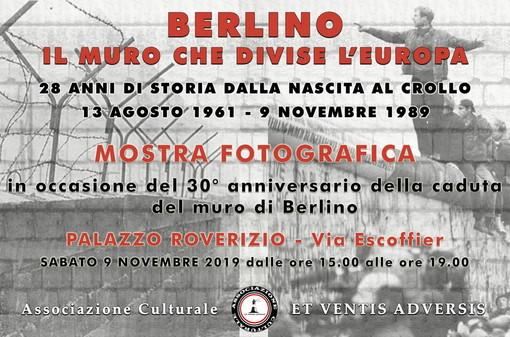 Sanremo: sabato prossimo, inaugurazione mostra fotografica 'A trent'anni dal crollo del muro di Berlino'