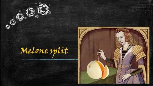 Felici & Veloci, la nuova Ricetta AutograFATA di Fata Zucchina: melone split