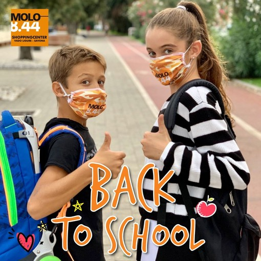 "Al Molo è sempre ""Back to school"": in regalo una mascherina per gli studenti"