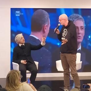 """70° Festival di Sanremo: Morgan show in replica a Bugo: """"Sono stato vittima di mobbing. Bugo qui grazie a me, poi hanno fatto di tutto per allontanarmi"""" (Video)"""