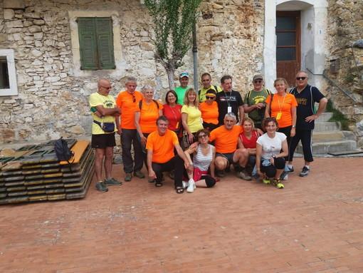 Bordighera: numerosa partecipazione del Gruppo Arditi Camminatori alla camminata Andandu 2019