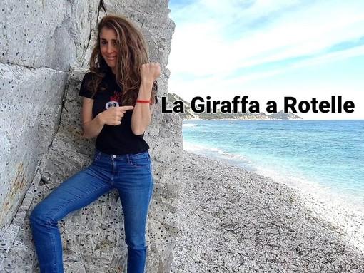 Da Roma a Imperia pedalando per la 'Giraffa a Rotelle', la sfida a scopo benefico di Martina Martini