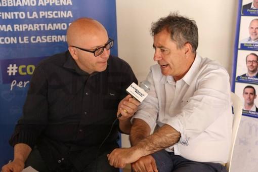 #Alvoto Taggia: campagna elettorale per le Amministrative di giugno, intervista in diretta al candidato Sindaco Mario Manni