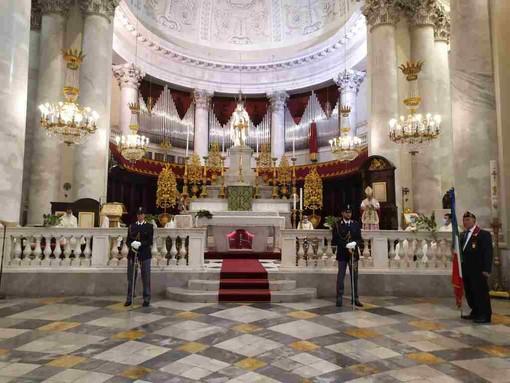 Imperia: celebrata al Duomo di Porto Maurizio la messa per San Michele Arcangelo, patrono della polizia (foto)