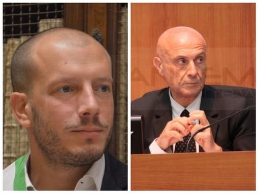 L'ex Ministro Marco Minniti a Ventimiglia per presentare il libro 'Sicurezza è libertà' insieme al Sindaco Enrico Ioculano