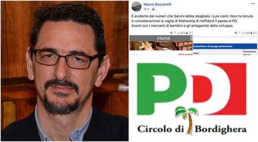 """Bordighera: crisi di governo, il commento del vice Sindaco Bozzarelli scatena l'ira del Pd bordigotto """"Definiti come 'mercanti di bambini', inaccettabile. Chiediamo le dimissioni"""""""