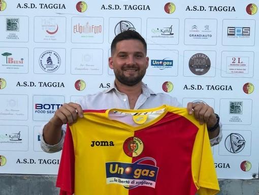 Matteo Cutellè, attaccante del Taggia