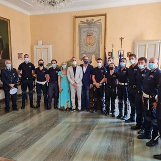 Nuovi agenti per la Polizia Municipale di Sanremo: il benvenuto dell'Amministrazione comunale