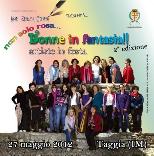 Taggia: domani, 27 maggio, la seconda edizione di 'Non solo rosa..Donne in fantasia'