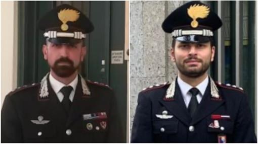 Da sinistra, Saverio Cappelluti e Massimiliano Corbo