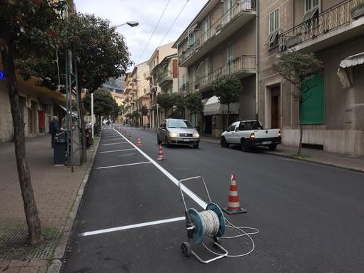 Taggia: da lunedì senso unico su via Mazzini, cambierà la viabilità ma aumenteranno i posteggi