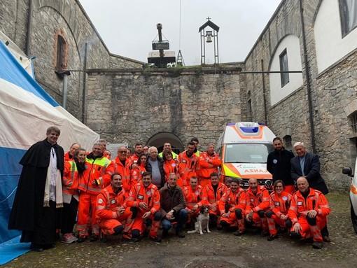 Pornassio: sabato scorso, inaugurati due nuovi mezzi della Croce Bianca