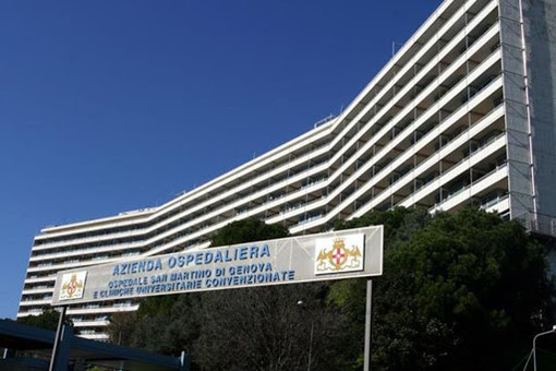 Emergenza Coronavirus: 272 i ricoverati all'Ospedale Policlinico San Martino di Genova